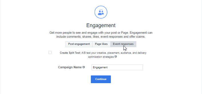 Engagement Objective Event