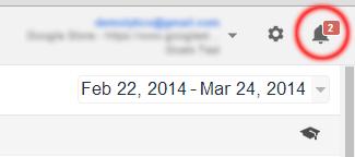 Google Analytics Notifications