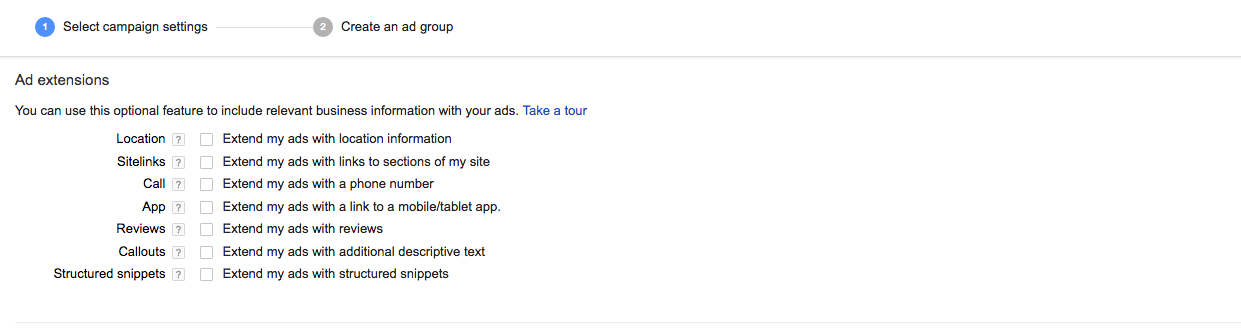 AdWords PPC Ad Extensions