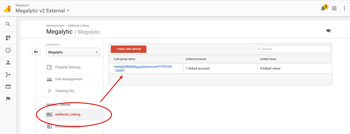 Linking AdWords and Google Analytics