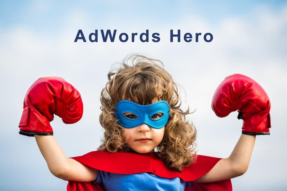 image of an adwords hero
