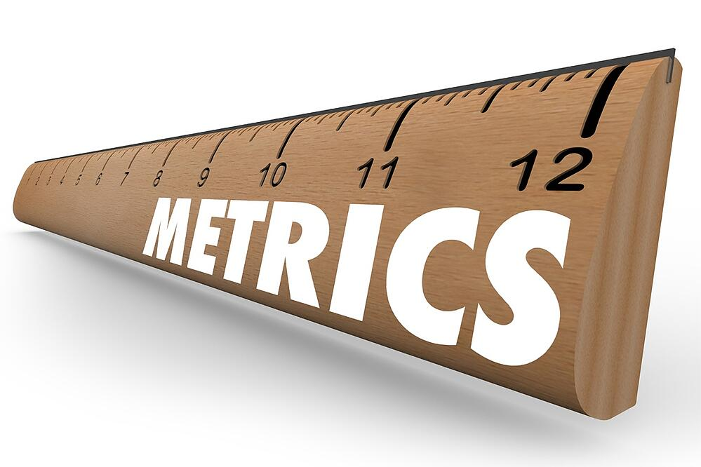 image of ruler to represent google analytics benchmarking