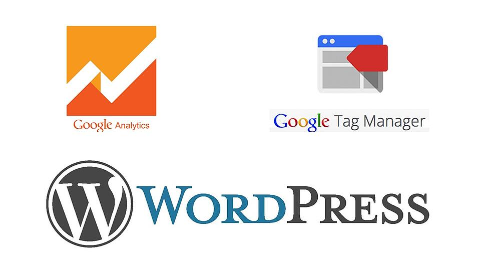 Blog Image Google Analytics Tag Manager and WordPress