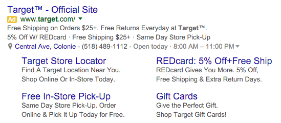 AdWords Click Types
