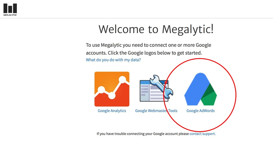 Connect to AdWords Account