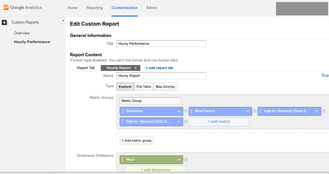 How to Build a Custom Report in Google Analytics
