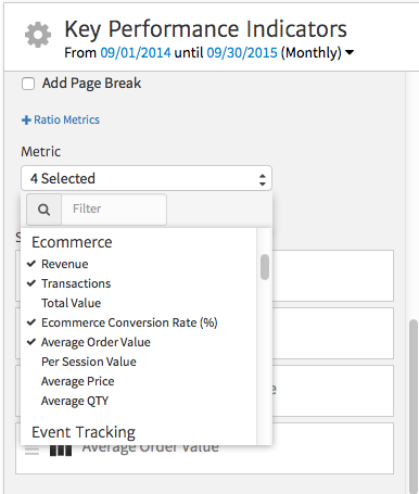 Customizing the Megalytic KPI Widget