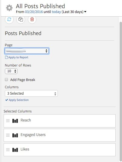 Customizing the Facebook Posts Widget