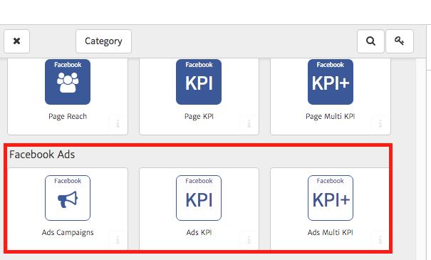 Facebook Ads Widgets