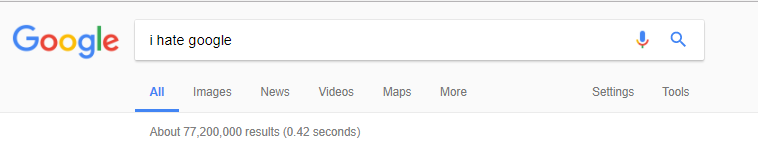 Page Count from Google Search