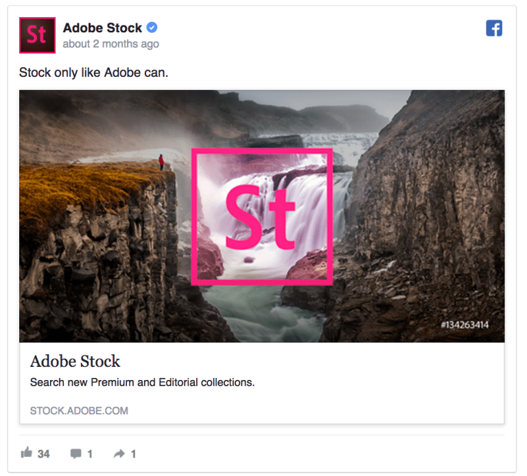 Facebook Ad With Great Creative
