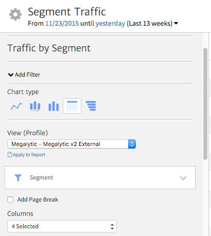 Megalytic Widget Editor Options
